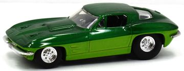 '63 Corvette Sting Ray | Model Cars | Hot Wheels G-Machine 1963 Corvette Two Tone green