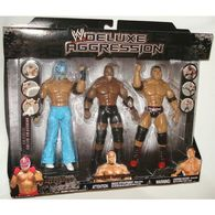 Rey Mysterio, Jr., Bobby Lashley, & Batista | Action Figure Sets