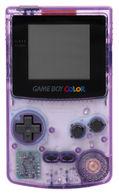 Game boy color purple medium