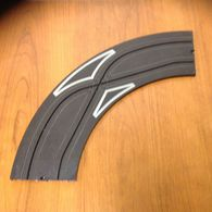 Aurora 9 inch Curve 1/4 turn with CRISS CROSS | Track