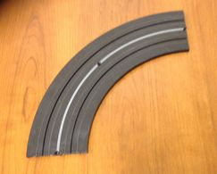 Aurora 9 inch Curve 1/4 turn | Track