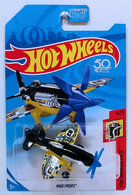 Mad Propz | Model Aircraft | HW 2018 - Collector # NONE - HW Daredevils 4/5 - Mad Propz - Black & Yellow - USA 50th Card