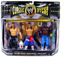 Jake 'The Snake' Roberts, British Bulldog, & Koko B. Ware | Action Figure Sets