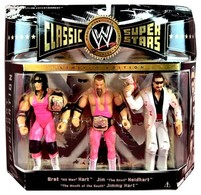 Bret 'Hitman' Hart, Jim 'The Anvil' Neidhart, & Jimmy 'The Mouth Of tThe South' Hart | Action Figure Sets
