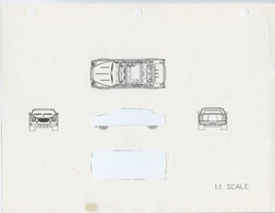 Matchbox Limousine Concept Sketch | Drawings & Paintings