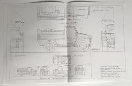 2002 Foam Fire Truck Preliminary Control Drawing   Drawings & Paintings