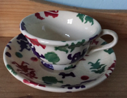 Toy Town Dollies Cup and Saucer - Emma Bridgewater   Ceramics   Toy Town Dollies Cup and Saucer