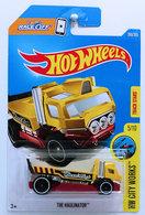 The Haulinator   Model Trucks   HW 2017 - Collector # 260/365 - HW City Works 5/10 - The Haulinator - Dark Yellow - USA Card