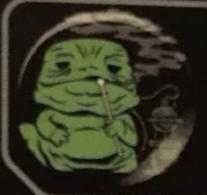 Jabba (Smoking) | Pins & Badges