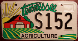 Tennessee Passenger License Plate | License Plates | Tennessee Passenger License Plate