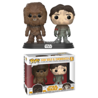 Han Solo & Chewbacca (2-Pack) | Vinyl Art Toys