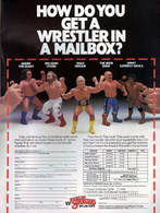 How Do You Get A Wrestler In A Mailbox? | Print Ads