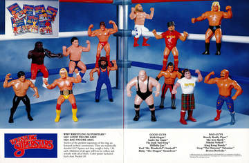 WWF Wrestling Superstars™ | Print Ads