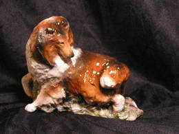 Ron Hevener Colllie Dog Figurine | Statues & Busts