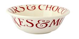 John Lewis Red Toast Cereal Bowl - Emma Bridgewater   Ceramics   Red Toast Cereal Bowl