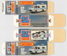 Matchbox Miniatures Picture Box - L Type - NASA Tracking Vehicle | Collectible Packaging