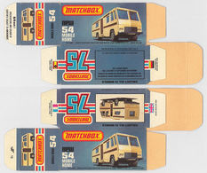 Matchbox Miniatures Picture Box - L Type - Mobile Home | Collectible Packaging