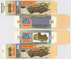 Matchbox Miniatures Picture Box - L Type - Personnel Carrier | Collectible Packaging