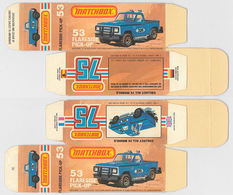 Matchbox Miniatures Picture Box - L Type - Ford Flareside Pickup | Collectible Packaging