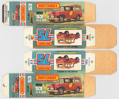 Matchbox Miniatures Picture Box - L Type - Jeep CJ 6 | Collectible Packaging
