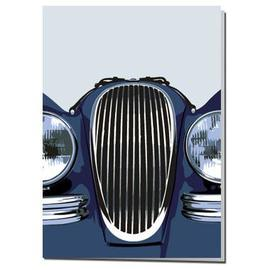 Jaguar XK120 Card | Postcards