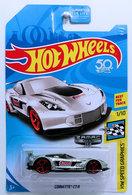 Corvette C7.R | Model Cars | HW 2018 - ZAMAC 011 - HW Speed Graphics 1/10 - Corvette C7.R - ZAMAC / Summit Racing Equipment - USA '50th' Card