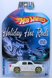 Cadillac Escalade EXT | Model Trucks | HW 2009 - Holiday Hot Rods # N8573 - Cadillac Escalade EXT - White - Walmart Exclusive