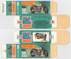 Matchbox Miniatures Picture Box - L Type - Harley Davidson Sportster | Collectible Packaging