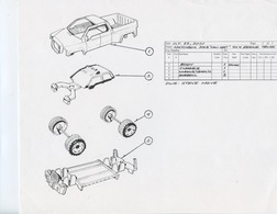 """Matchbox 2003 """"Low Cost"""" 4x4 Rescue Truck   Drawings & Paintings"""