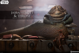 Jabba The Hutt And Throne | Action Figures
