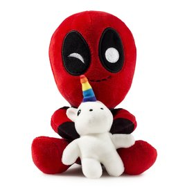 Deadpool Riding a Unicorn | Plush Toys