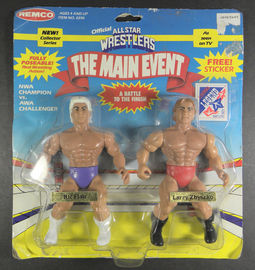 Ric Flair VS Larry Zbyszko | Action Figure Sets