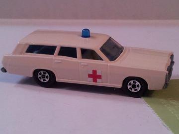 Mercury Police Ambulance Wagon | Model Cars