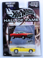 Plymouth GTX | Model Cars | HW 2003 - Hall of Fame / Greatest Rides # B2453 - Plymouth GTX (1971) - Yellow - Real Riders