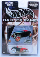 Deuce Roadster  | Model Cars | HW 2003 - Hall of Fame / Greatest Rides # B2464 - Deuce Roadster - Black - Chrome Wheels - Real Riders