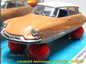 Citroën DS19 Saloon - Advertisment Model of 1955 | Model Cars