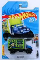 Baja Hauler | Model Trucks | HW 2018 - Collector # 225/365 - HW Metro 2/10 - Baja Hauler - Blue & Green - USA 50th Card