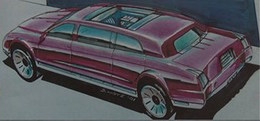 Matchbox Limousine   Drawings & Paintings