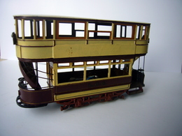 "LCC ""C"" Class Tram | Model Train Kits (Rolling Stock) | LCC ""C"" class tram in 1:76 scale - Adrian Swain's first model kit."
