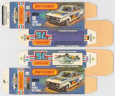 Matchbox miniatures picture box   l type   ford escort rs 2000 collectible packaging 608320ca b61f 4a63 a3a7 278b75374f34 medium