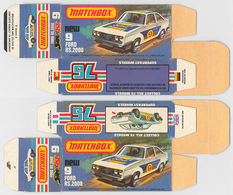 Matchbox miniatures picture box   l type   ford escort rs 2000 collectible packaging 7af89197 5323 489c 9b5b 6e7ad80e79fd medium
