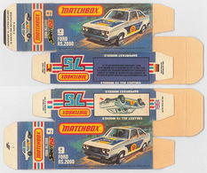 Matchbox miniatures picture box   l type   ford escort rs 2000 collectible packaging 318e5d75 b4d7 4bfe b0f8 883fcfacf4d4 medium