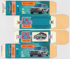 Matchbox miniatures picture box   l type   vw golf collectible packaging 984cbc97 f8b4 4375 afa9 e63eb1b23873 medium