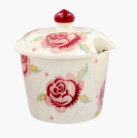 Scattered Rose Sugar Bowl - Emma Bridgewater | Ceramics | Scattered Rose Sugar Bowl