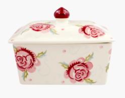 Scattered Rose Large Butter Dish - Emma Bridgewater | Ceramics | Scattered Rose Butter Dish