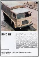 Jelcz 315 | Print Ads