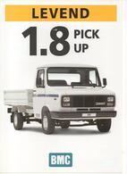 Levend 1.8 Pick-up | Print Ads