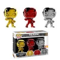 The Flash (Justice League) (Chrome) (3-Pack) [SDCC] | Vinyl Art Toys
