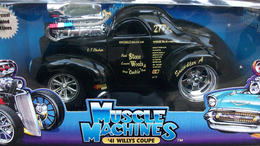 1941 Willys Coupe (Modified)  | Model Cars
