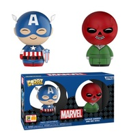 Captain America and Red Skull (2-Pack) [SDCC] | Vinyl Art Toys Sets